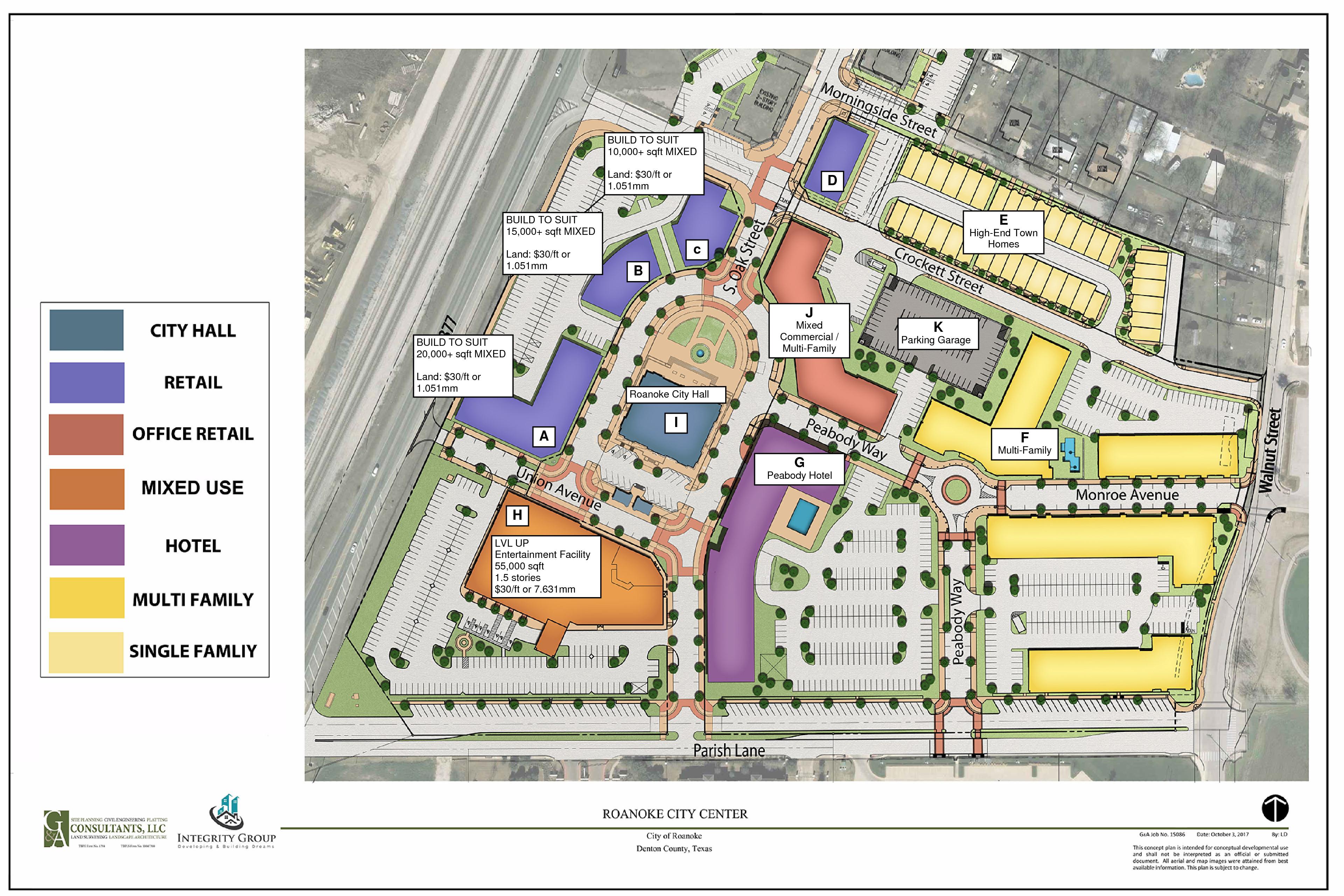 Roanoke City Center Core Location Advisors Llc
